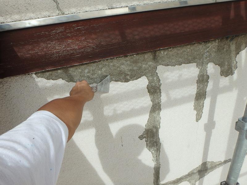 浮き塗膜撤去