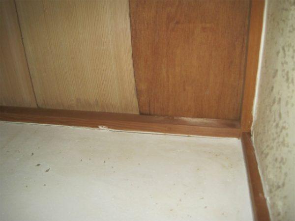 トイレの天井の雨漏り