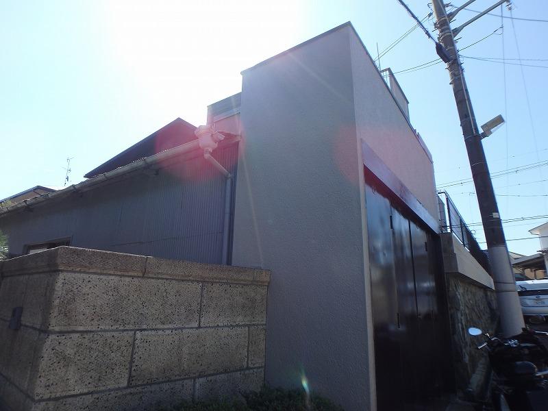 納屋の塗装完了