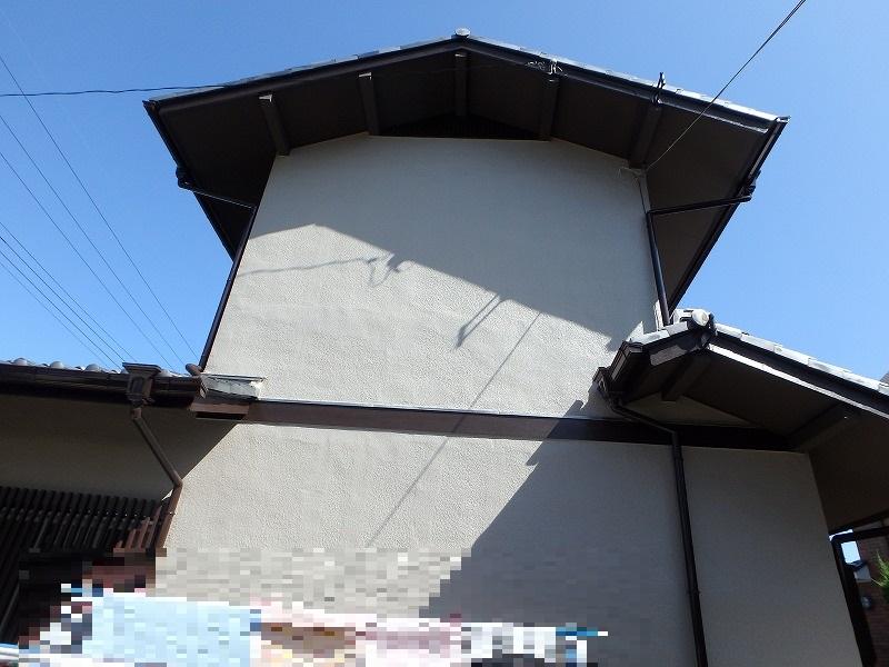 外壁塗装後のお住まい裏側