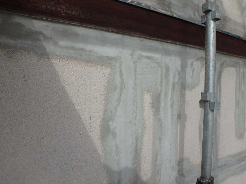 外壁補修完了