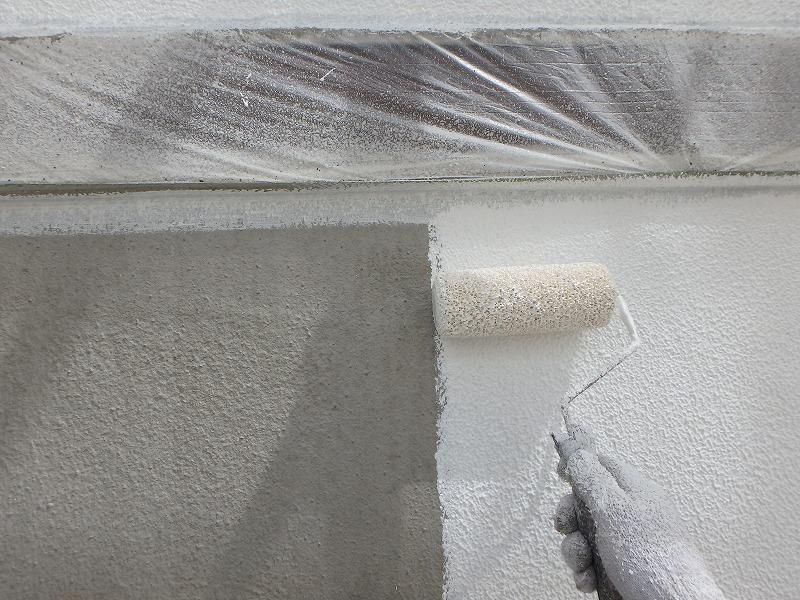 下塗り 微弾性フィラー 厚塗り波型工法