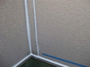 外壁シーリング工事(パネルつなぎ目埋め)