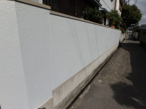塗替え後(塀)
