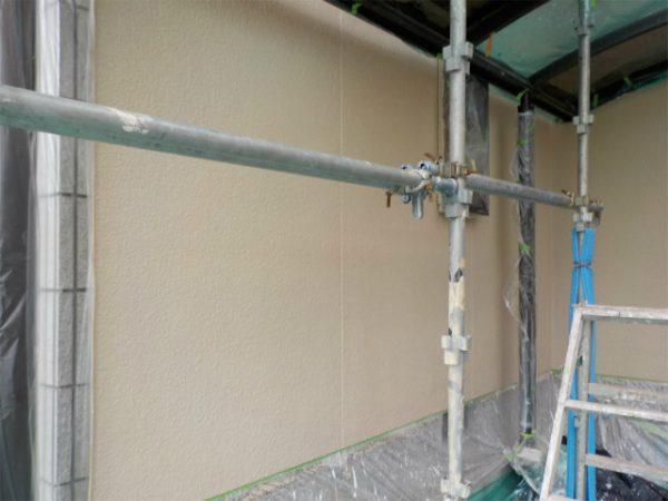 外壁の中塗り完成