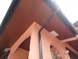 軒天井・外壁・雨樋の塗装後