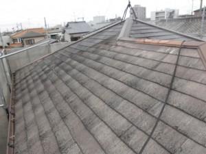 屋根塗装前