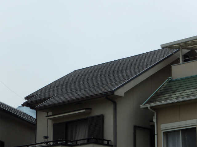 塗装前(屋根)