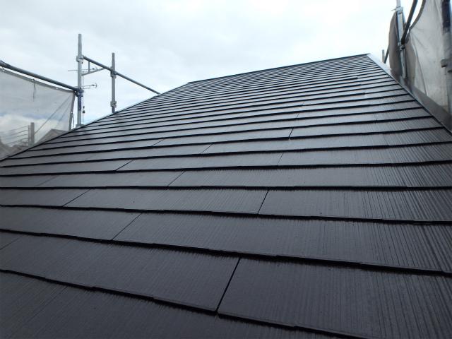 屋根(カラーベスト)塗装後