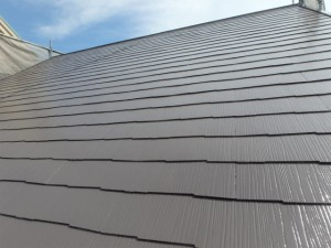 屋根塗装後(カラーベスト)