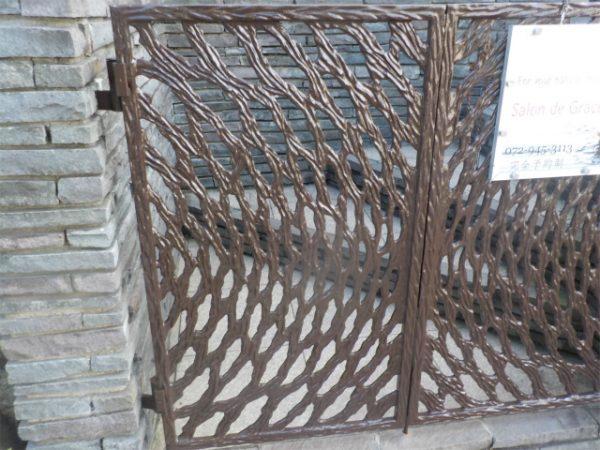 門扉の塗装