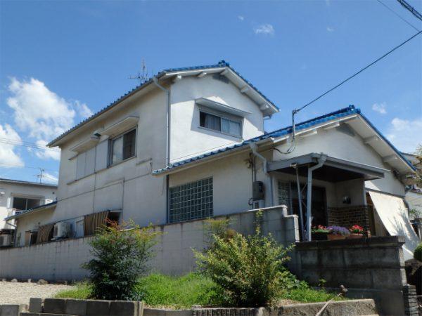 外壁塗装完成の家