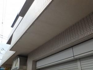 軒天井塗装前