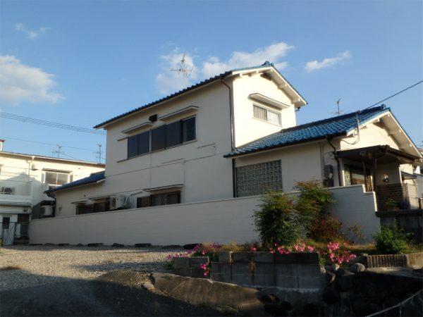羽曳野市の外壁塗装完成の家