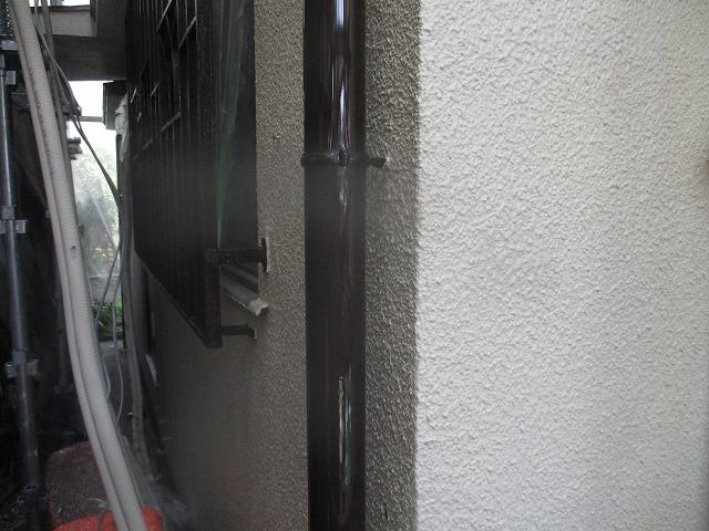 樋とい塗装後