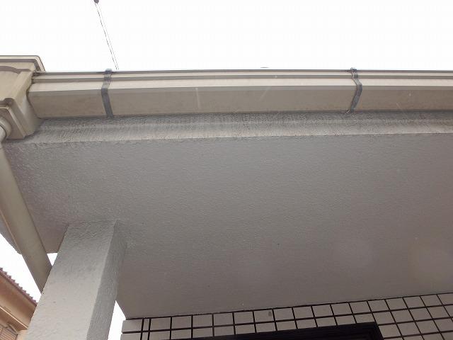 軒天塗装前