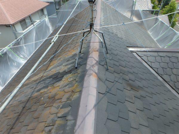 屋根塗装の前