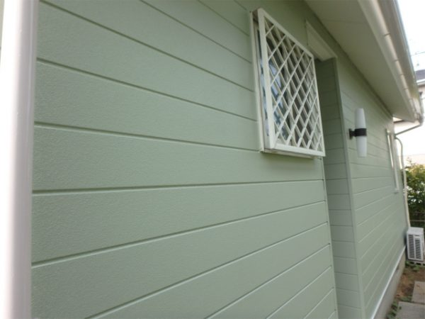 外壁塗装の完成