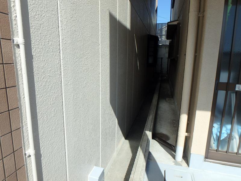 外壁塗装後のマンション外壁