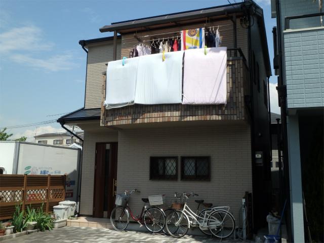 守口市の外壁塗装完成の家