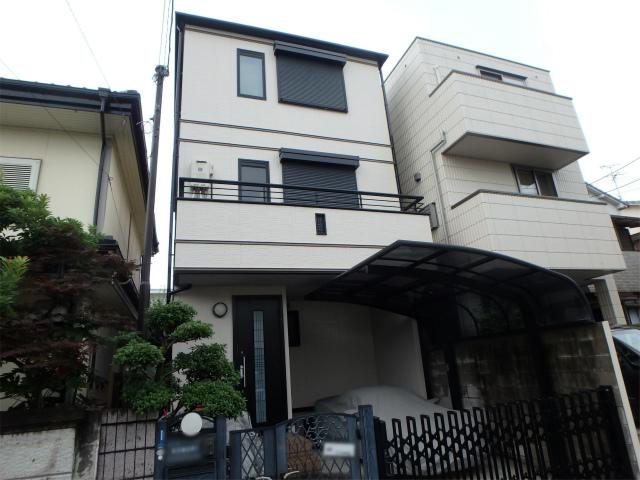 藤井寺市のハウスメーカーの外壁塗装