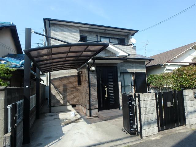 岸和田市の外壁塗装完成の家