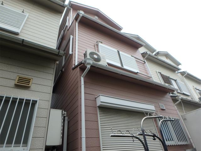 柏原市の戸建住宅の外壁塗り替えしたお家