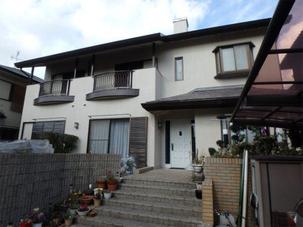 大阪狭山市の塗り替え完成の家