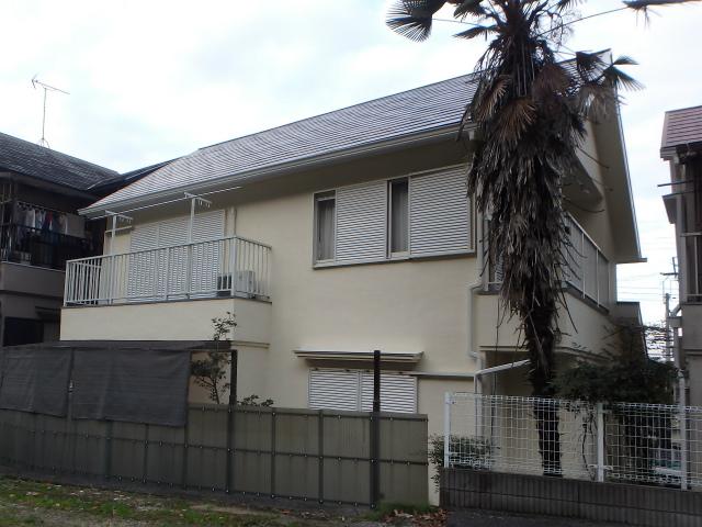 河内長野市住宅の外壁塗り替えの家