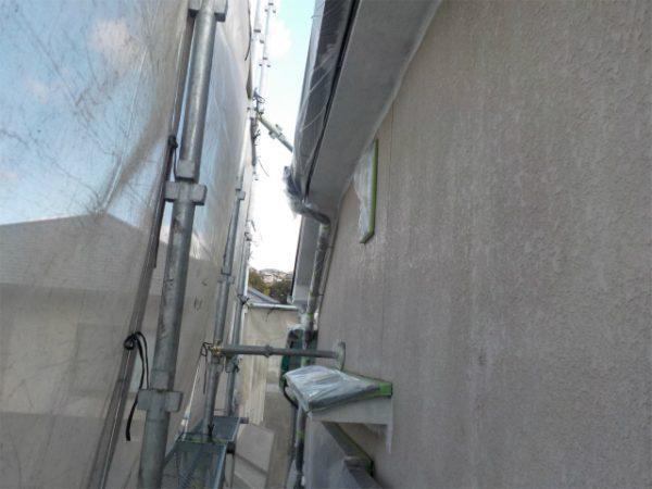 外壁の塗装前(2階部分)