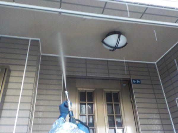 天井の高圧洗浄