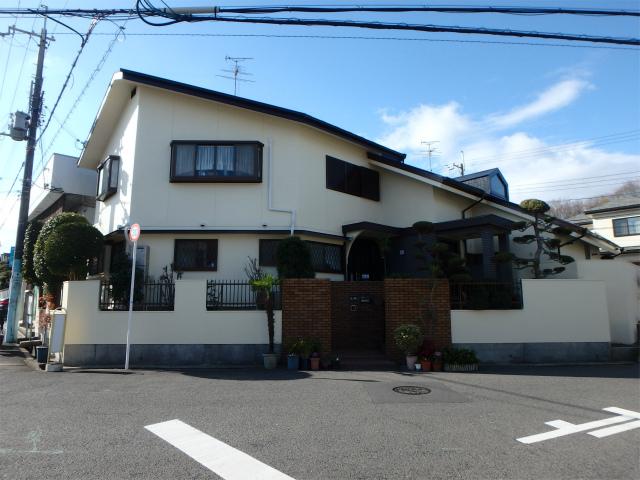 大阪狭山市の塗装完成の家