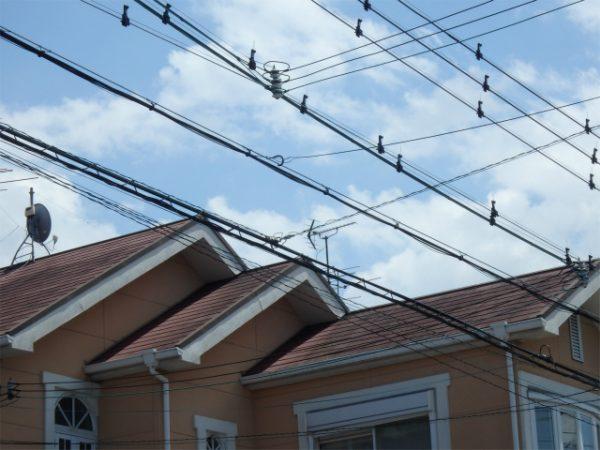 屋根塗装の工事前