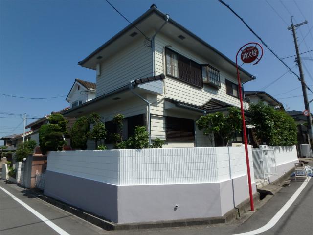 羽曳野市の住宅塗装完成