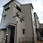 和泉市の外壁塗装の家