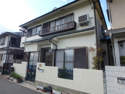 羽曳野市の住宅塗装(外壁と屋根)