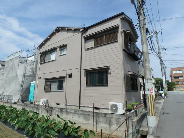 藤井寺市の戸建住宅の外壁塗装