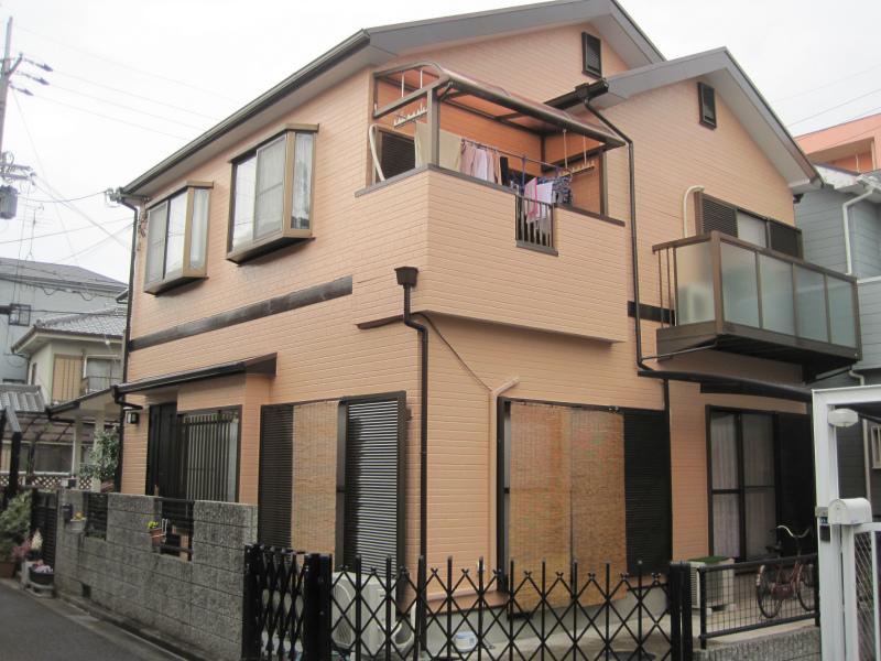 藤井寺市の窯業系サイディングの外壁塗装