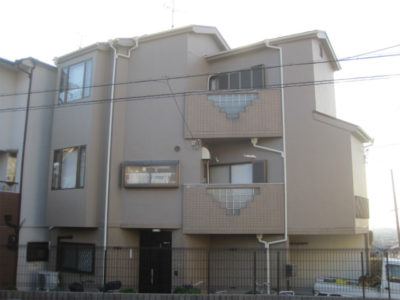 東大阪市の戸建住宅の塗装工事
