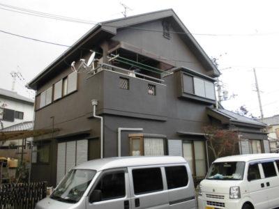 奈良県香芝市の外壁塗装と屋根塗装