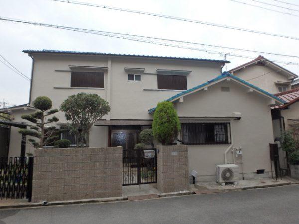 藤井寺市の住宅塗装の家