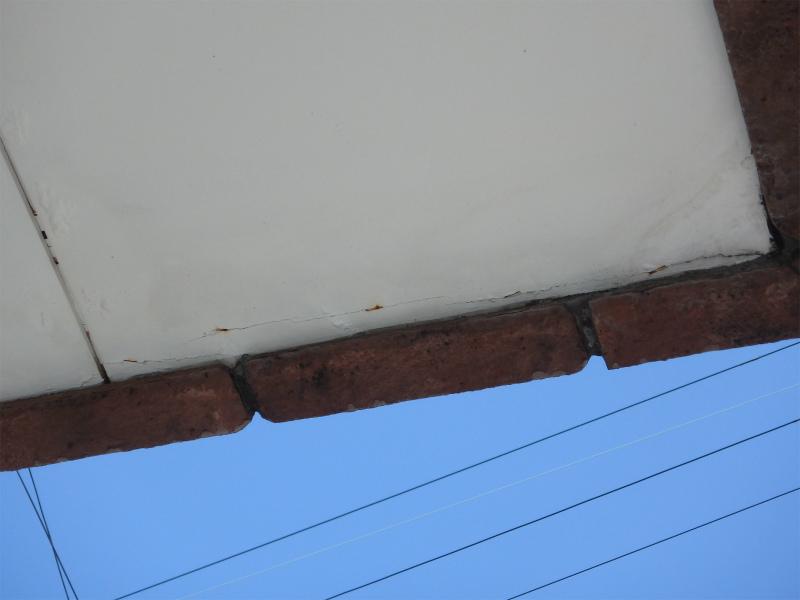 軒天井のはがれ