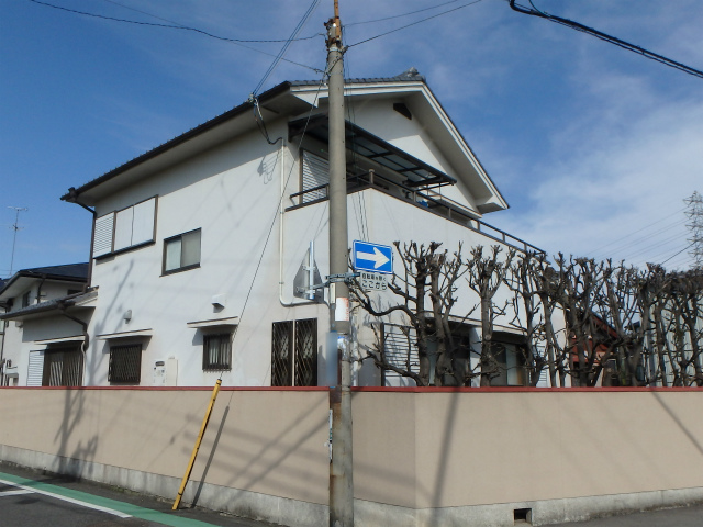 高石市の外壁塗装の施工前