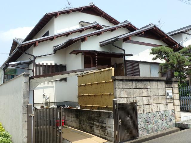 大阪狭山市の和風の塗装工事