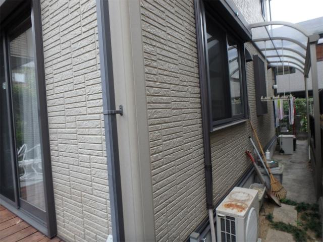 外壁の塗り替え前