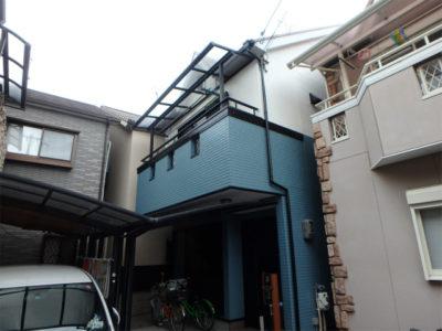 八尾市の窯業系サイディングの外壁塗装