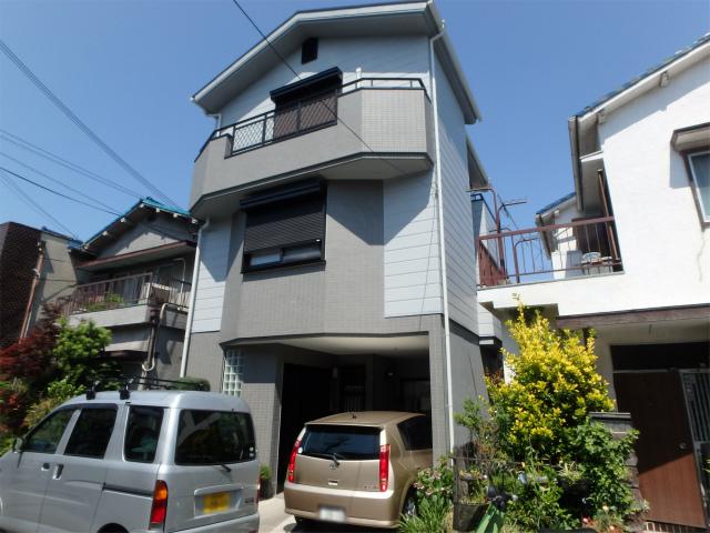 松原市の外壁塗り替えの家
