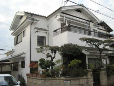 堺市美原区の塗装工事