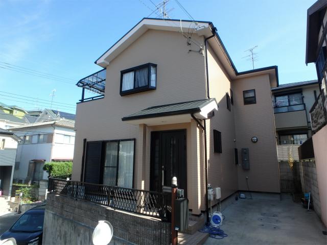 羽曳野市の住宅塗装(窯業系サイディング)