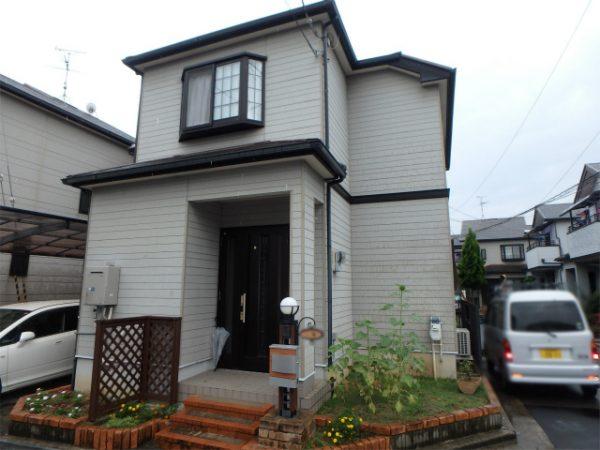 貝塚市の外壁塗装の家